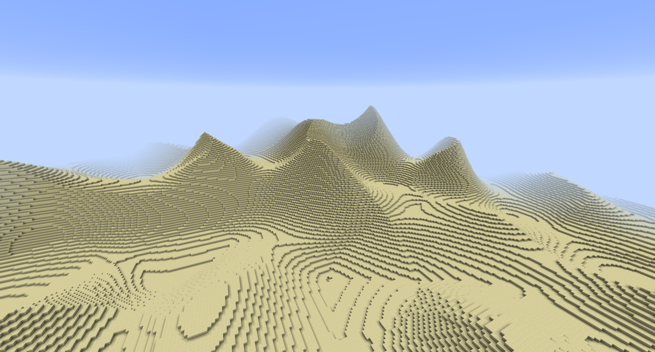 Generating complex, multi-biome procedural terrain with Simplex noise in PSWG